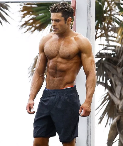 Zac Efron Baywatch Workout